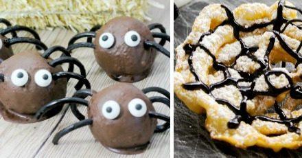 Spider Halloween Foods