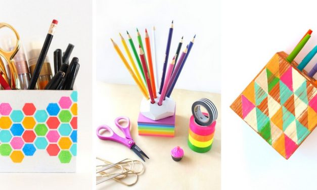 20 Cute DIY Pencil Holders